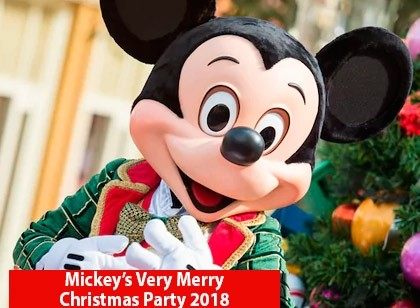 Mickey's Very Merry Christmas Party 2018 - Pré-Venda